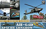 APACHE LONGBOW -- Plastic Model Helicopter Kit -- 1/48 Scale -- #hf48004