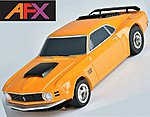 MG+ '70 Mustang Boss Orange