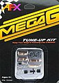 Mega-G Tune-Up Kit with Long+Short PU Shoes -- HO Scale Slot Car Part -- #70330