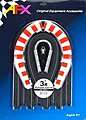 3 Hair-Pin Curve Track -- HO Scale Slot Car Track -- #70614