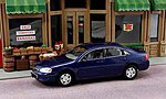 2011 Chevy Impala (Blue) -- O Scale Model Railroad Vehicle -- #43603