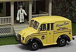 1950 Delivery Truck Florence Bros. Dairy Products -- HO Scale Model Railroad Vehicle -- #87004
