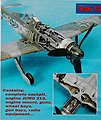 Fw190D Detail Set For a Hasegawa Model -- 1/32 Scale -- Plastic Model Aircraft Accessory -- #2031