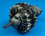 R2800 Early Engine -- 1/32 Scale -- Plastic Model Aircraft Accessory -- #2034