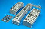 F/A18C Wheel Bay For an Academy Model -- 1/32 Scale -- Plastic Model Aircraft Accessory -- #2038