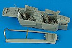 F14B Cockpit Set For a Tamiya Model -- Plastic Model Aircraft Accessory -- 1/32 Scale -- #2080