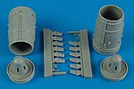 Su25K Frogfoot A Exhaust Nozzle For a Trumpeter -- Plastic Model Aircraft Accessory -- 1/32 -- #2155