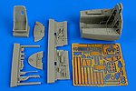 Me163B Komet Cockpit Set for MGK -- Plastic Model Aircraft Accessory -- 1/32 Scale -- #2198