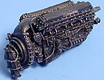 Rolls Royce Merlin Mk 11 Engine -- Plastic Model Aircraft Accessory -- 1/48 Scale -- #4099
