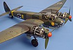 Ju88A4 Detail Set For a Revell Model -- Plastic Model Aircraft Accessory -- 1/48 Scale -- #4138
