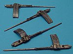 Colt Mk 12 20mm Cannons -- Plastic Model Military Weapon -- 1/48 Scale -- #4181