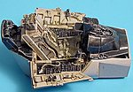 F16C Cockpit Set For a Hasegawa Model -- Plastic Model Aircraft Accessory -- 1/48 Scale -- #4191