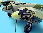 Mosquito FB Mk VI Engine Set For Tamiya -- Plastic Model Aircraft Accessory -- 1/48 Scale -- #4200