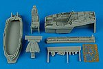 F22A Cockpit Set For an Academy Model -- Plastic Model Aircraft Accessory -- 1/48 Scale -- #4410