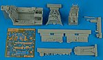F105D Cockpit Set For Hasegawa & Revell -- Plastic Model Aircraft Accessory -- 1/48 -- #4436