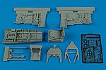 Spitfire Mk V Cockpit Set For a Tamiya Model -- Plastic Model Aircraft Accessory -- 1/48 -- #4458
