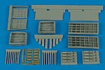 P47 Gun Bay For a Tamiya Model -- Plastic Model Aircraft Accessory -- 1/48 Scale -- #4467