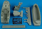 F22A Cockpit Set For a Hasegawa Model -- Plastic Model Aircraft Accessory -- 1/48 Scale -- #4480