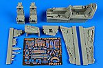 F4C Phantom II Cockpit Set For an Academy Model -- Plastic Model Aircraft Accessory -- 1/48 -- #4611