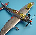 P47D Detail Set For an Academy Model -- Plastic Model Aircraft Accessory -- 1/72 -- #7039