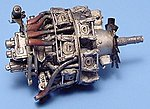 BMW 801 Engine -- Plastic Model Aircraft Accessory -- 1/72 Scale -- #7073