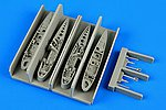 F9F Panther Wingfolds For a Hobby Boss Model -- Plastic Model Aircraft Accessory -- 1/72 -- #7305