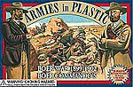 Boer War 1899-1902 Boer Commandos (20) -- Plastic Model Military Figure -- 1/32 Scale -- #5424