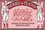 American Revolution British Army Infantry -- Plastic Model Military Figure -- 1/32 Scale -- #5466