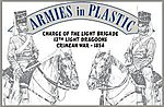 13th Light Dragoons Charge of the Light Brigade -- Plastic Model Military Figure -- 1/32 -- #5516