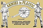 British Royal Artillery Shirt Sleeve Order -- Plastic Model Military Figure -- 1/32 Scale -- #5560