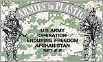 US Army OEF Afghanistan Set #2 (18) -- Plastic Model Military Figure -- 1/32 Scale -- #5577