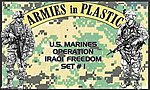 US Marines OIF Set #1 (18) -- Plastic Model Military Figure -- 1/32 Scale -- #5578