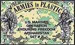 US Marines OEF Afghanistan Set #2 (18) -- Plastic Model Military Figure -- 1/32 Scale -- #5579