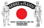 Russo-Japanese War Japanese Army Summer Dress -- Plastic Model Military Figure -- 1/32 -- #5613