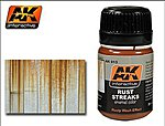 Rust Streaks Enamel Paint 35ml Bottle -- Hobby and Model Enamel Paint -- #13