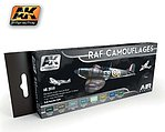 Air Series RAF Camouflages Acrylic -- Hobby and Model Paint Set -- #2010