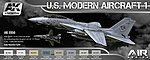 Air Series US Modern Aircraft 1 Colors -- Hobby and Model Paint Set -- #2050
