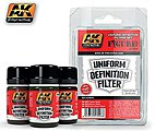 Uniform Definition Filter Enamel -- Hobby and Model Paint Set -- #3008