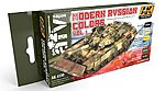 Modern Russian Vol.1 Acrylic Paint -- Hobby and Model Paint Set -- #4130