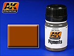 Medium Rust Pigment 35ml Bottle -- Model Paint Pigment -- #43
