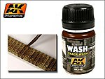 Track Wash Enamel Paint 35ml Bottle -- Hobby and Model Enamel Paint -- #83