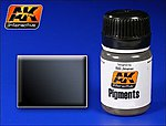 Dark Steel Pigment 35ml Bottle -- Model Paint Pigment -- #86