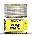 Real Colors- Yellow Acrylic Lacquer Paint 10ml Bottle