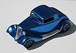 1oz. Bottle Candy Electric Blue Enamel -- Hobby and Model Enamel Paint -- #709