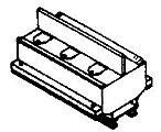 Mine Cars - Latrine, 2' Gauge -- HO Scale Model Train Freight Car -- #2801