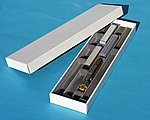 Hobby Tote System Low Sided Storage Container -- HO Scale Model Railroad Accessory -- #19254