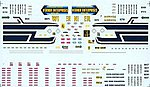 Decals - For 53' Duraplate Trailers - Werner -- HO Scale Model Railroad Decal -- #50186
