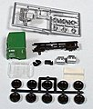 American Truck Freightliner Kit Burlington Northern -- HO Scale Model Railroad Vehicle -- #5508