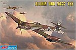 155V2 WWII German Interceptor (Ltd Edition) -- Plastic Model Airplane Kit -- 1/72 Scale -- #7202