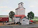 Farmers Grain & Stock Company -- HO Scale Model Railroad Building -- #115